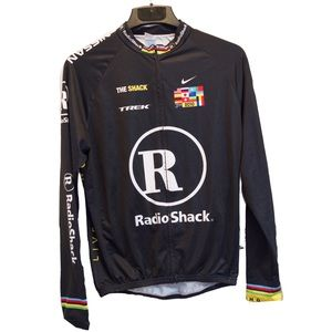 RARE lance armstrong Trek Nike cycling jersey